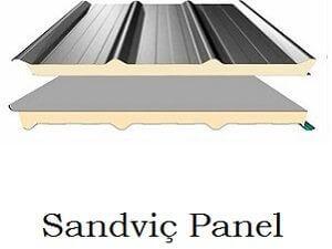 sandvic panel 7 300x225 - Çatı Malzemeleri Maliyet Hesaplama